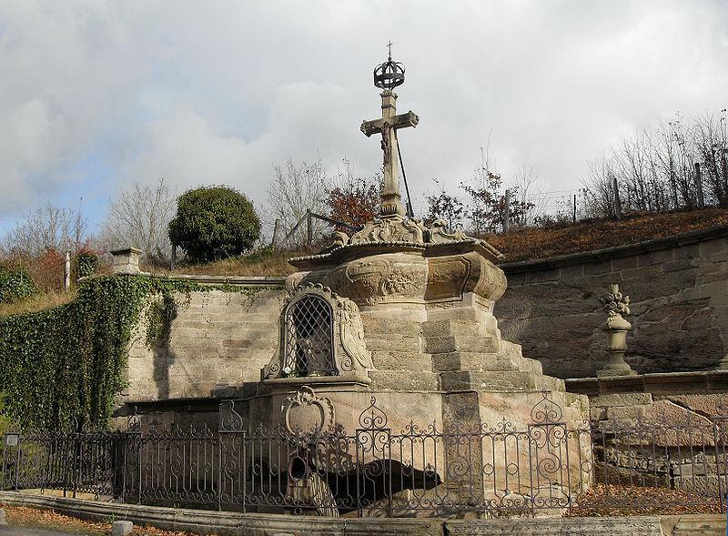 Photo du Monument Historique Monument du calvaire et parcelles de terrain qui l'entourent situé à Darney