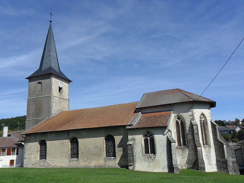 Photo du Monument Historique Eglise situé à Domjulien
