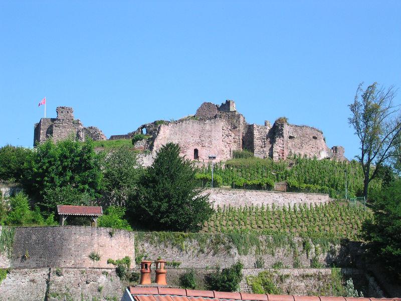 Photo du Monument Historique Château situé à Epinal