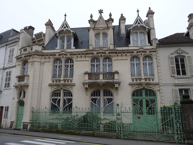 Photo du Monument Historique Immeuble situé à Epinal