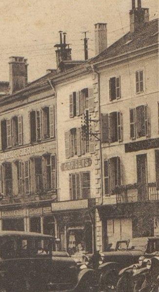 Photo du Monument Historique Maison situé à Epinal