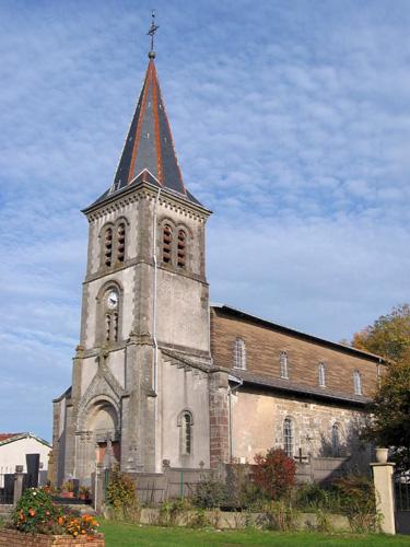 Photo du Monument Historique Eglise situé à Esley