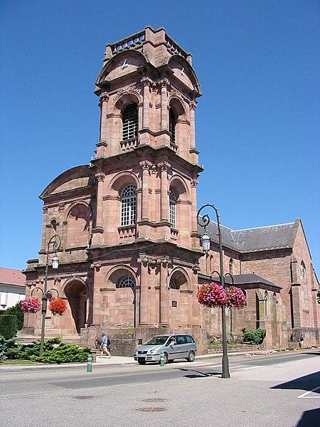 Photo du Monument Historique Abbaye situé à Etival-Clairefontaine