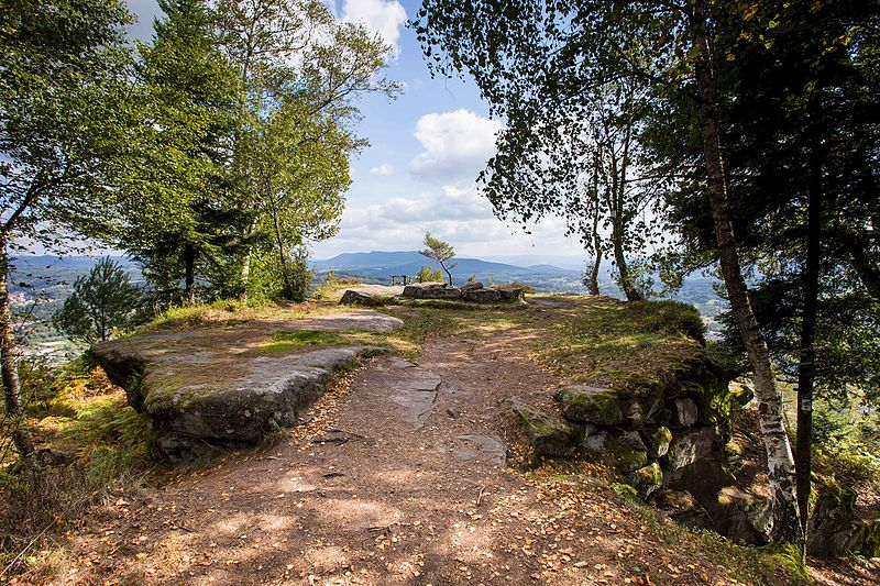 Photo du Monument Historique Zone archéologique situé à Etival-Clairefontaine
