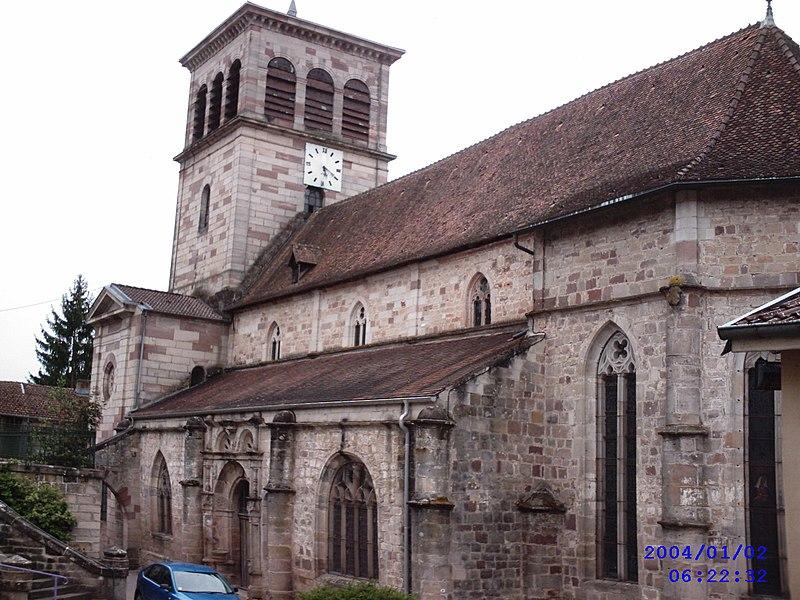 Photo du Monument Historique Eglise situé à Fontenoy-le-Château