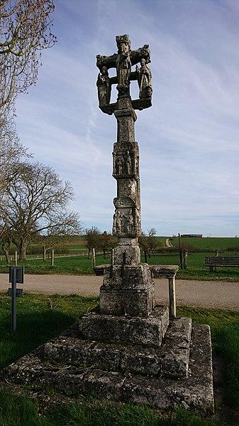 Photo du Monument Historique Croix de carrefour situé à Frenelle-la-Grande