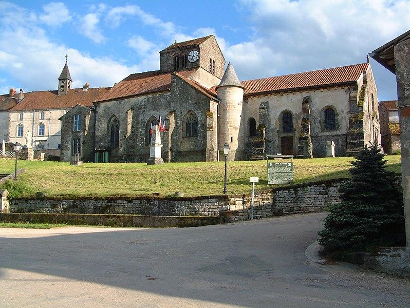 Photo du Monument Historique Eglise situé à Godoncourt