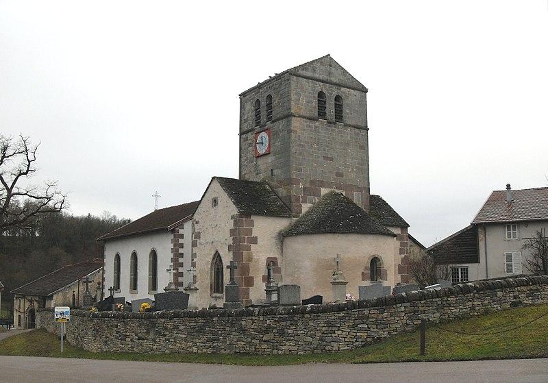 Photo du Monument Historique Eglise Saint-Paul situé à Gorhey