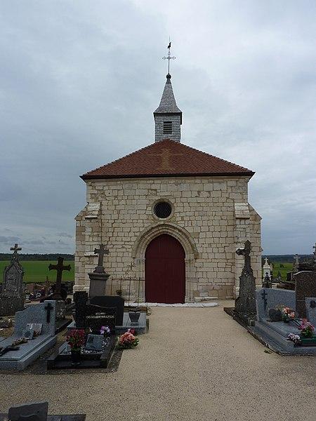 Photo du Monument Historique Chapelle du cimetière dite Chapelle Sainte-Libaire situé à Grand