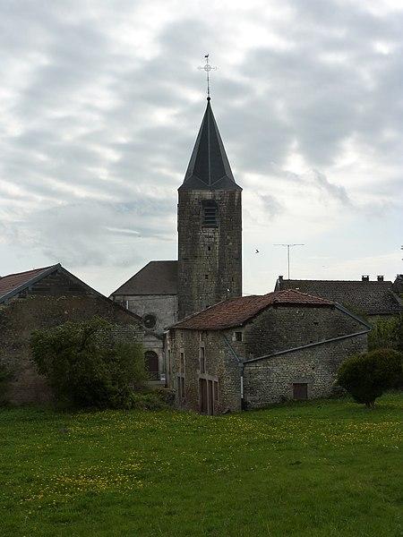 Photo du Monument Historique Eglise Sainte-Libaire situé à Grand