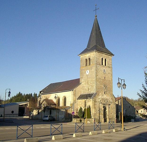 Photo du Monument Historique Eglise Saint-Nicolas situé à Igney