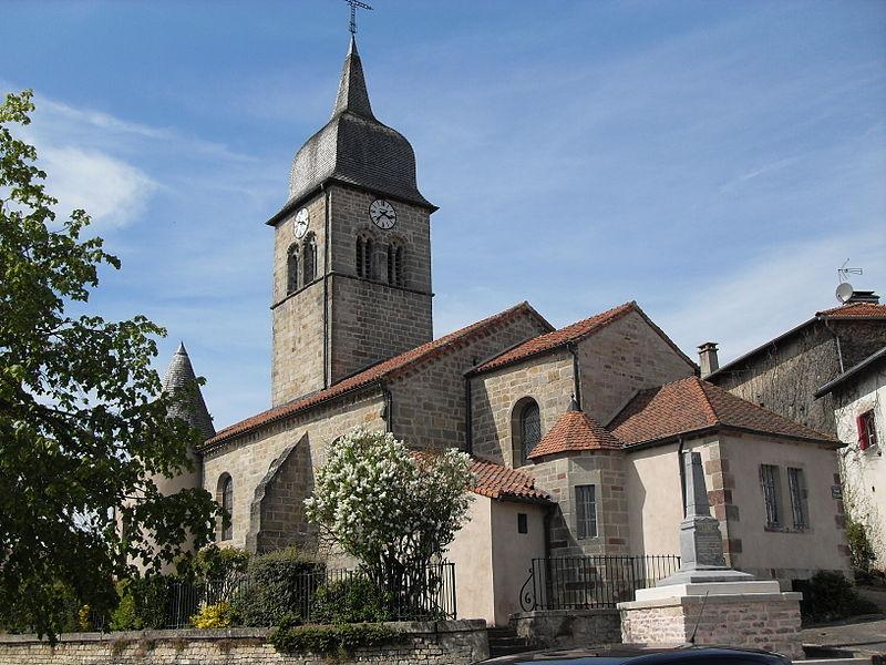 Photo du Monument Historique Eglise situé à Isches
