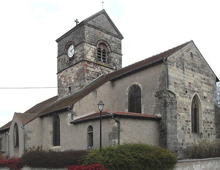 Photo du Monument Historique Eglise dans son ensemble situé à Lignéville