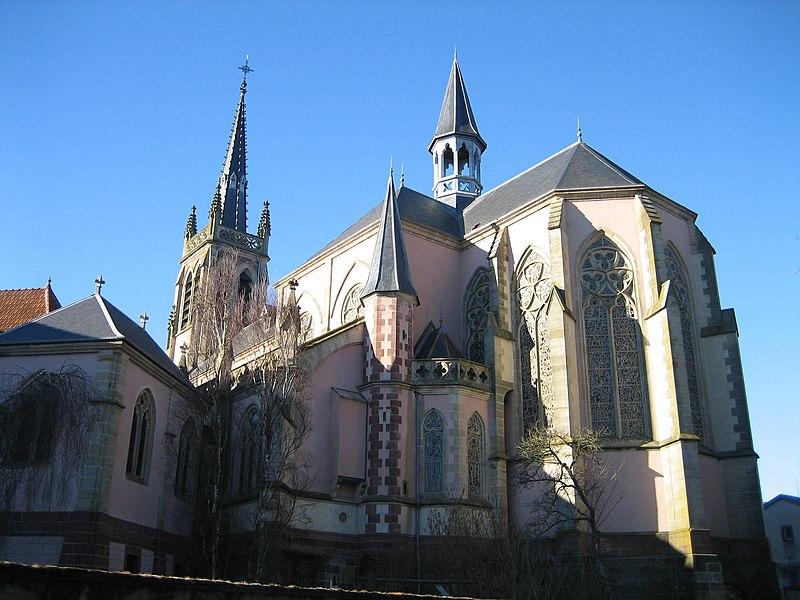 Photo du Monument Historique Basilique Saint-Pierre-Fourier situé à Mattaincourt