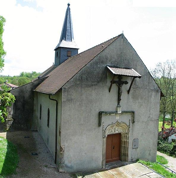 Photo du Monument Historique Chapelle de la Oultre situé à Mirecourt