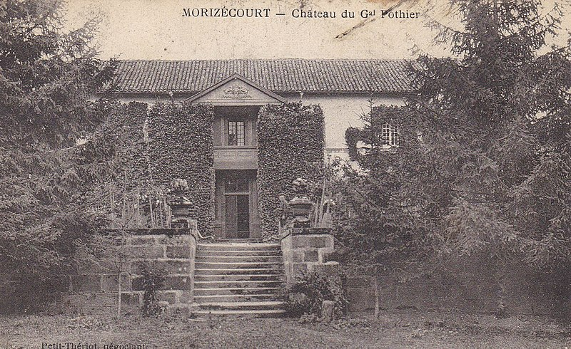 Photo du Monument Historique Prieuré situé à Morizécourt