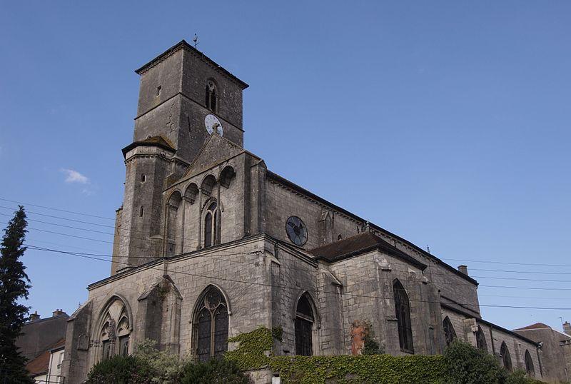 Photo du Monument Historique Eglise Saint-Christophe situé à Neufchâteau