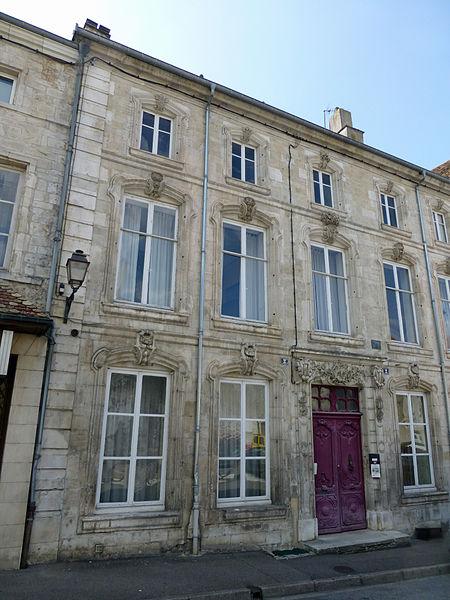 Photo du Monument Historique Maison des Goncourt situé à Neufchâteau