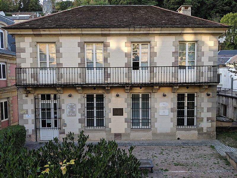 Photo du Monument Historique Maison dite Pavillon des Princes situé à Plombières-les-Bains