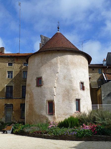 Photo du Monument Historique Tour situé à Rambervillers
