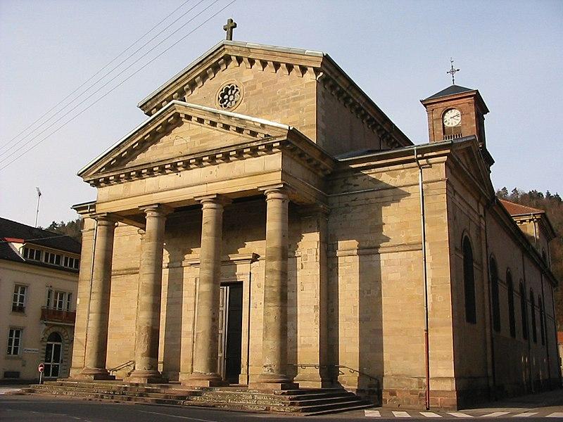 Photo du Monument Historique Eglise situé à Raon-l'Etape