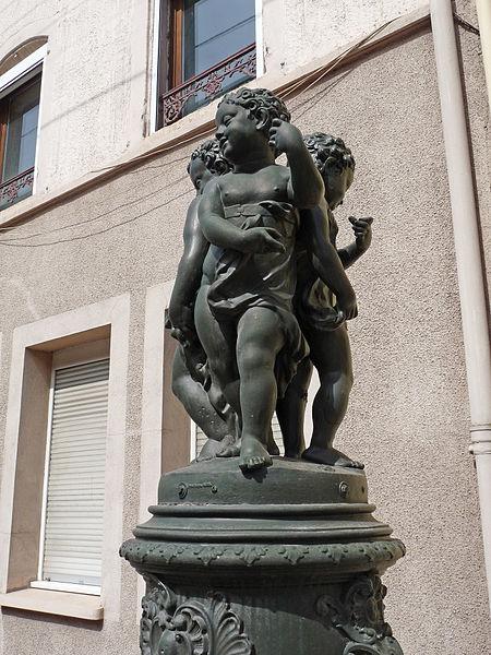 Photo du Monument Historique Onze fontaines situé à Raon-l'Etape