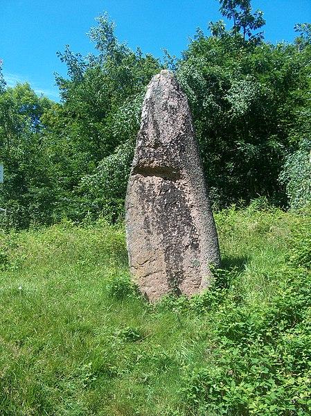Photo du Monument Historique Menhirs de Pierre-Borne à la Maladrerie situé à Raon-l'Etape