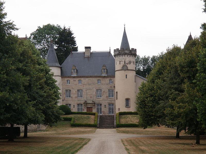 Photo du Monument Historique Château de Lichécourt et maison du verrier de Thysac situé à Relanges