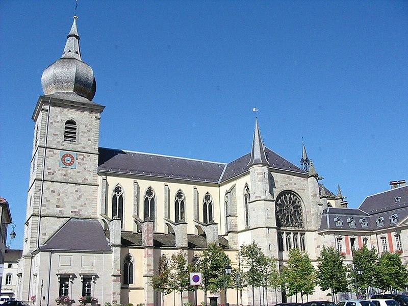 Photo du Monument Historique Abbaye situé à Remiremont