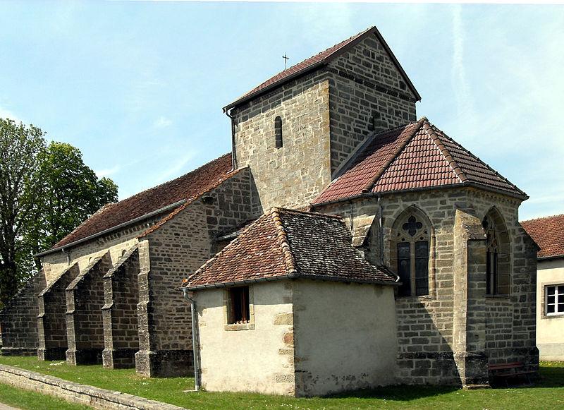 Photo du Monument Historique Eglise Notre-Dame situé à Rozières-sur-Mouzon