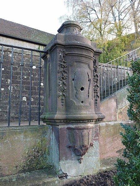 Photo du Monument Historique Fontaine situé à Saint-Dié