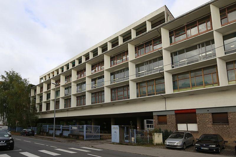 Photo du Monument Historique Manufacture Claude-et-Duval situé à Saint-Dié