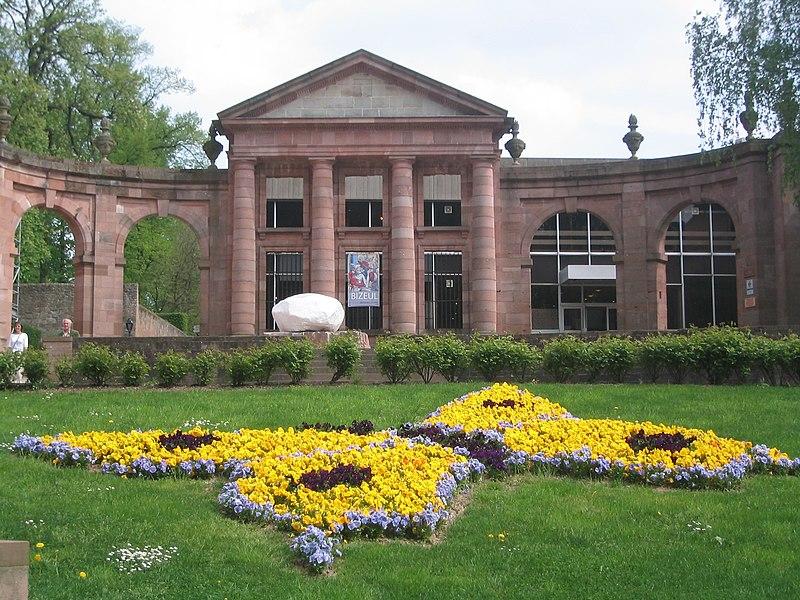 Photo du Monument Historique Palais épiscopal dit de la Galazière situé à Saint-Dié