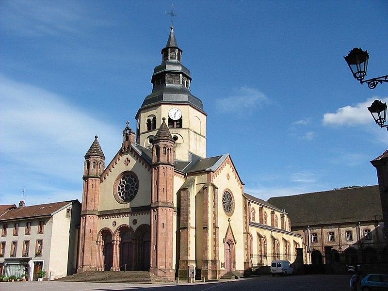 Photo du Monument Historique Ancienne abbaye situé à Senones