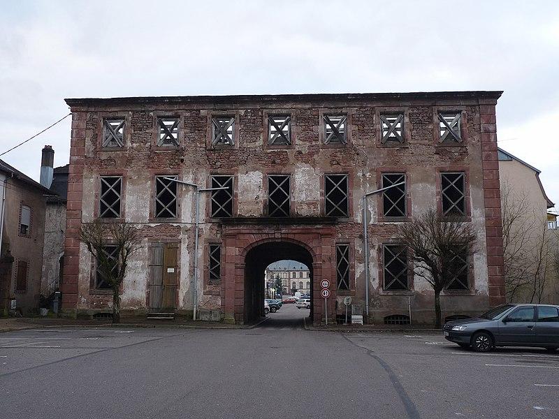 Photo du Monument Historique Ancien hôtel de Bilistein, premier château des princes de Salm situé à Senones