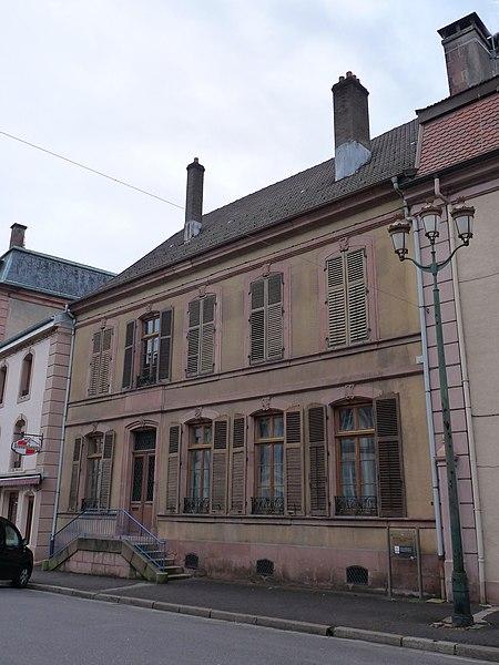 Photo du Monument Historique Hôtel Messier situé à Senones