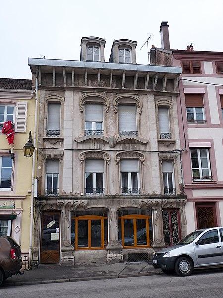 Photo du Monument Historique Maison situé à Senones