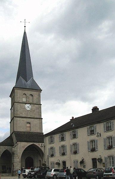 Photo du Monument Historique Eglise situé à Le Val-d'Ajol