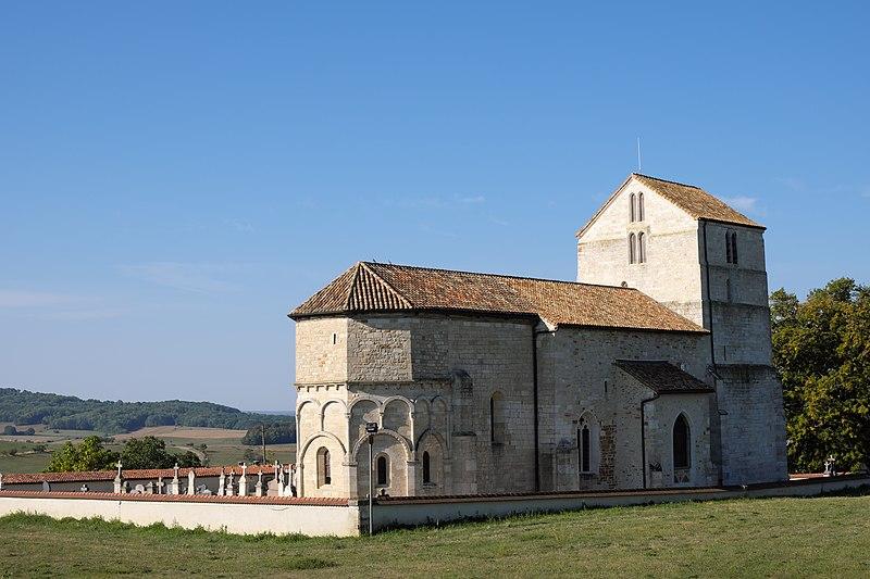 Photo du Monument Historique Eglise Saint-Rémy situé à Vicherey