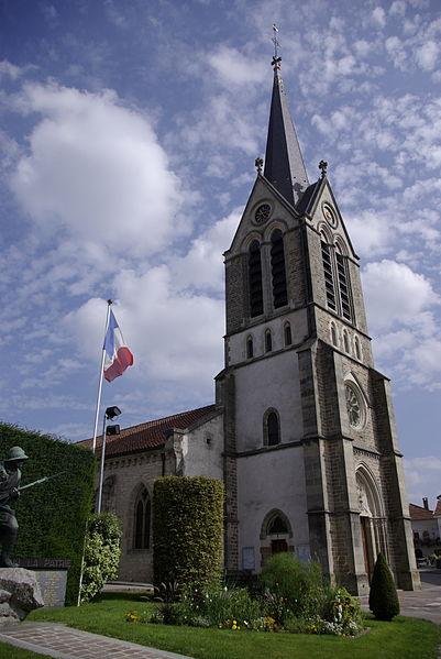 Photo du Monument Historique Eglise du Grand-Ban situé à Vittel