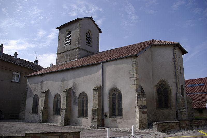 Photo du Monument Historique Eglise du Petit-Ban situé à Vittel