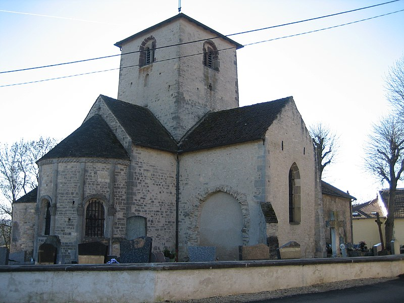 Photo du Monument Historique Eglise Saint-Martin situé à Vomécourt-sur-Madon