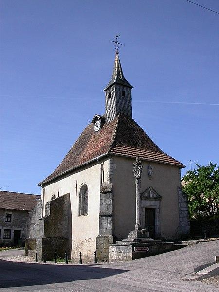 Photo du Monument Historique Eglise (ancienne chapelle Saint-Genest) situé à Dolaincourt