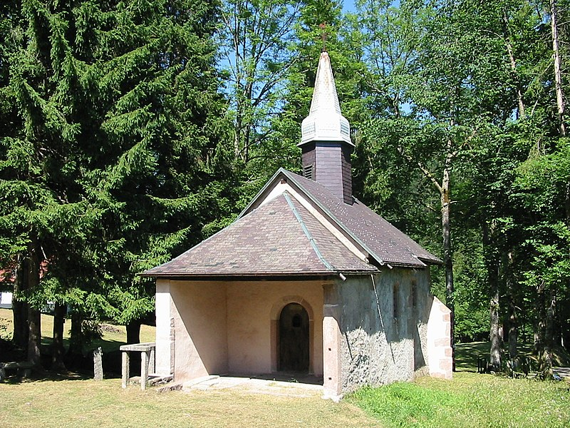 Photo du Monument Historique Chapelle Saint-Anne-de-Martimpré situé à Gerbépal