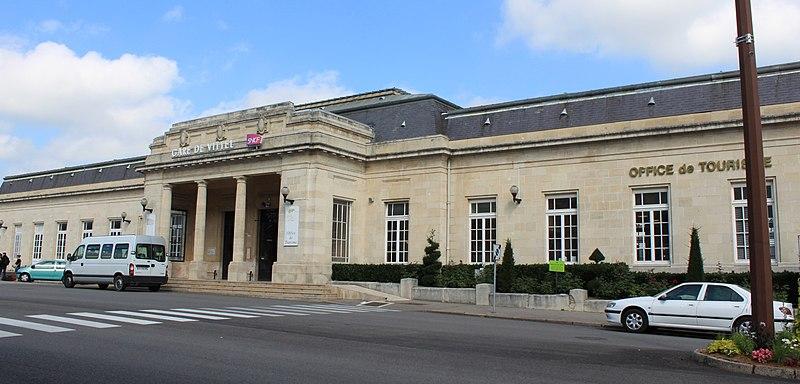 Photo du Monument Historique Gare situé à Vittel