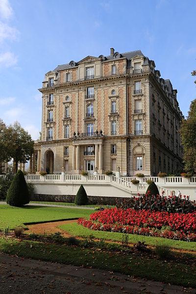 Photo du Monument Historique Station thermale : ensemble hôtelier situé à Vittel