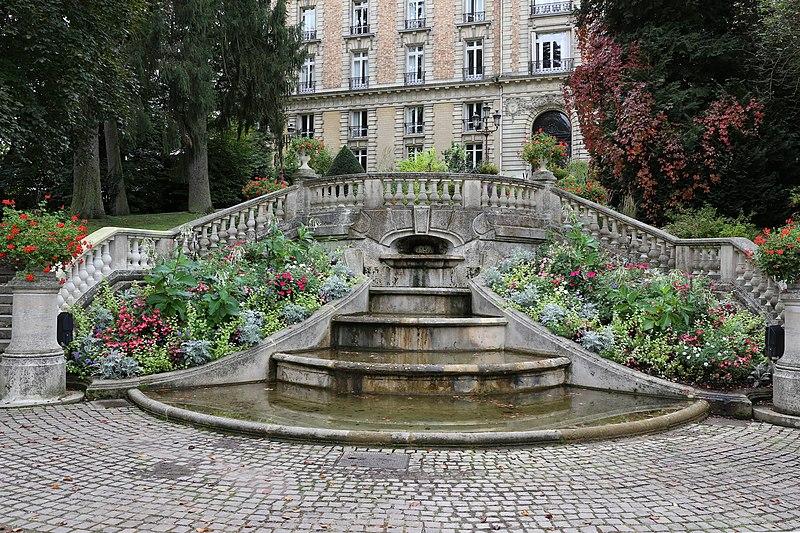 Photo du Monument Historique Station thermale : Parc thermal situé à Vittel