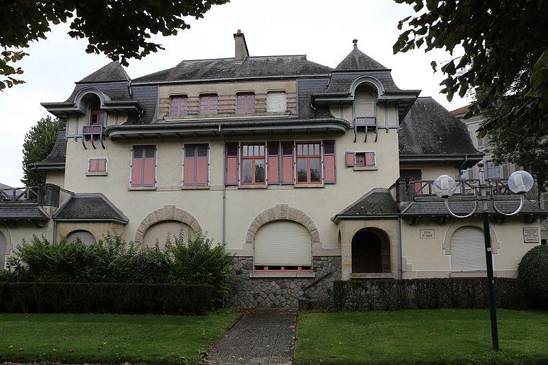 Photo du Monument Historique Station thermale : ensemble de villas situé à Vittel