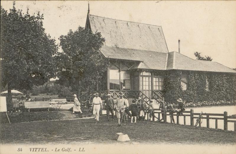 Photo du Monument Historique Tir aux pigeons dépendant de la station thermale de Vittel situé à They-sous-Montfort