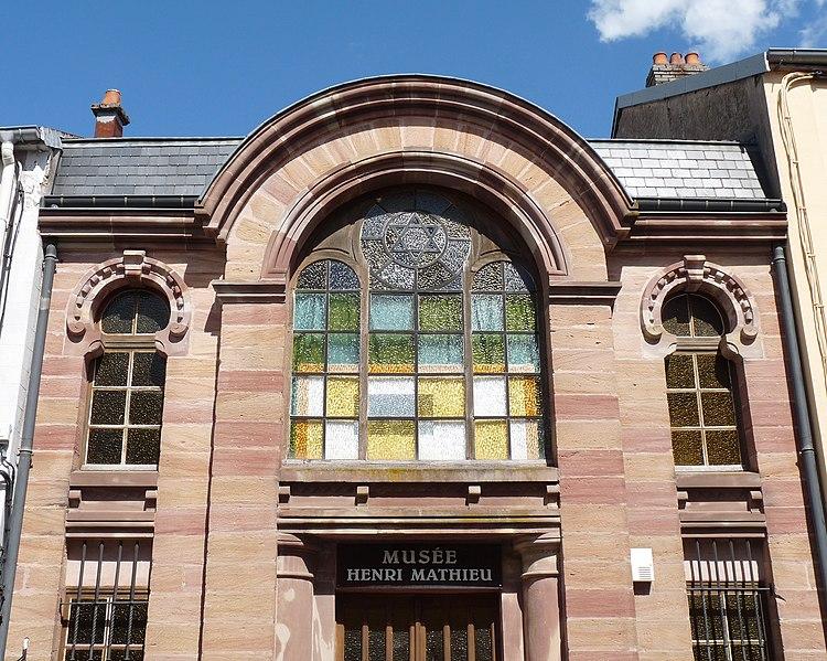 Photo du Monument Historique Ancienne synagogue, actuellement musée situé à Bruyères